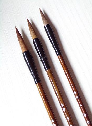 Pennelli per calligrafia cinese